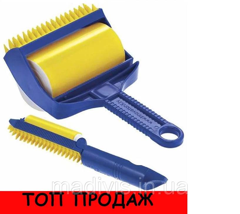 Валик липкий  для чистки и уборки, для удаления пыли и ворса Sticky Buddy