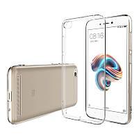 Xiaomi Mi 5х защитный чехол Transparent