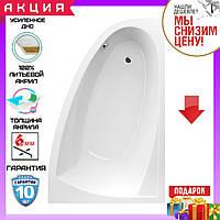 Асимметричная акриловая ванна 160x100 см Excellent Aquaria Comfort WAEX.AQP16WH правосторонняя