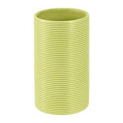 Spirella Стакан для ванной комнаты Spirella TUBE RIBBED зеленый (10.18517)