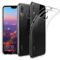 Huawei P smart plus +  чехол TPU резина