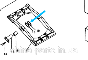 Регулировочная прокладка ZL50E.6-14