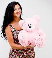 Мягкая игрушка плюшевый розовый мишка Гриша 50см