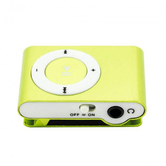 MP3 плеер клипса салатовый
