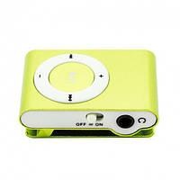 MP3 плеер клипса салатовый, фото 1