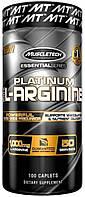 MuscleTech, Platinum L-arginine, 100 капс. х 500 мг, аргинин