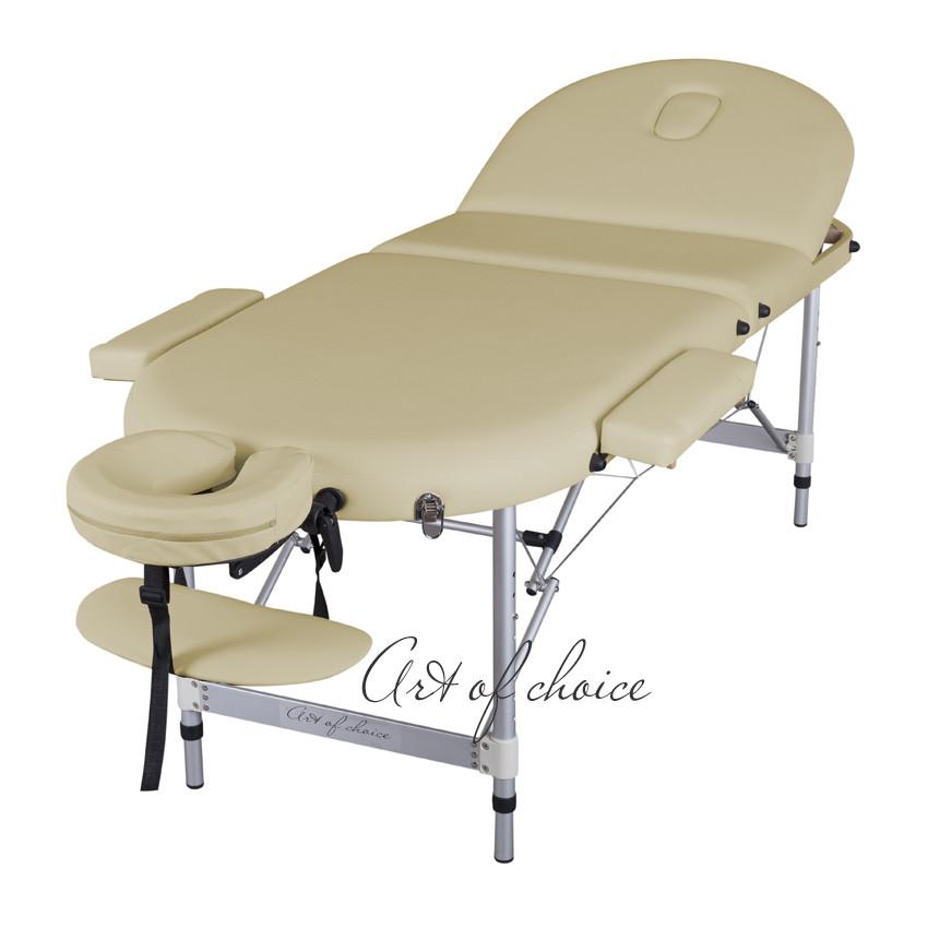 Массажный стол складной 3-х секционный, кушетка переносная  WEN