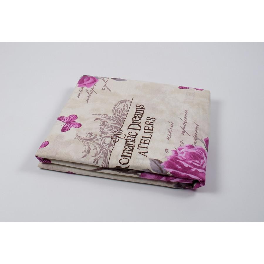 Пододеяльник Lotus ранфорс - Ella розовый 175*215