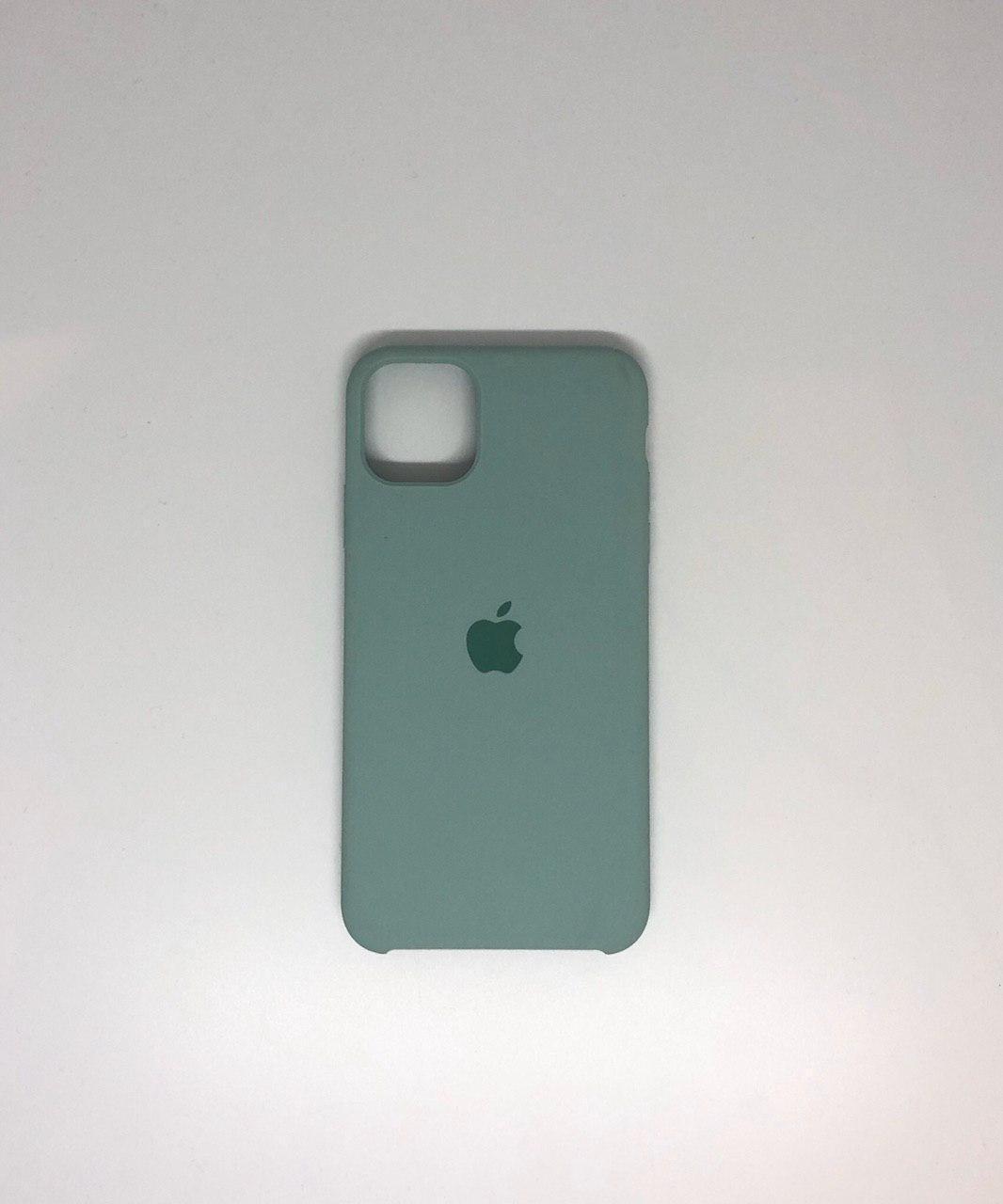 """Чехол Silicon iPhone 11 - """"Яркий изумруд №44"""""""