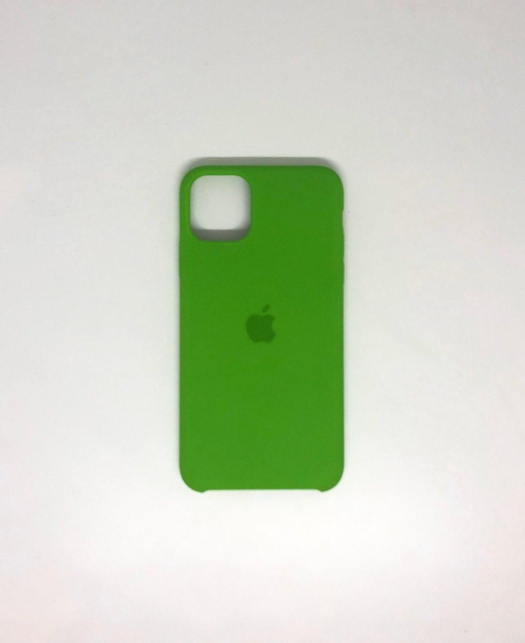 "Чехол Silicon iPhone 11 - ""Лайм №31"""