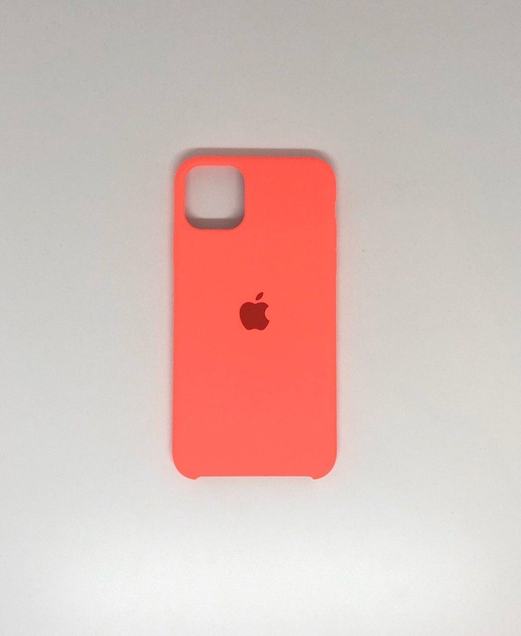 """Чехол Silicon iPhone 11 - """"Коралловый №29"""""""