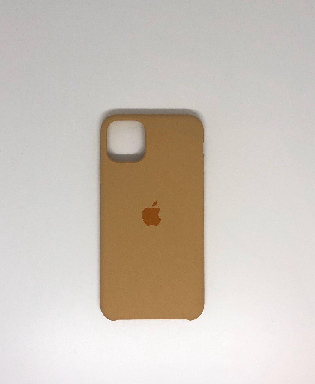 "Чехол Silicon iPhone 11 - ""Золотой №28"""