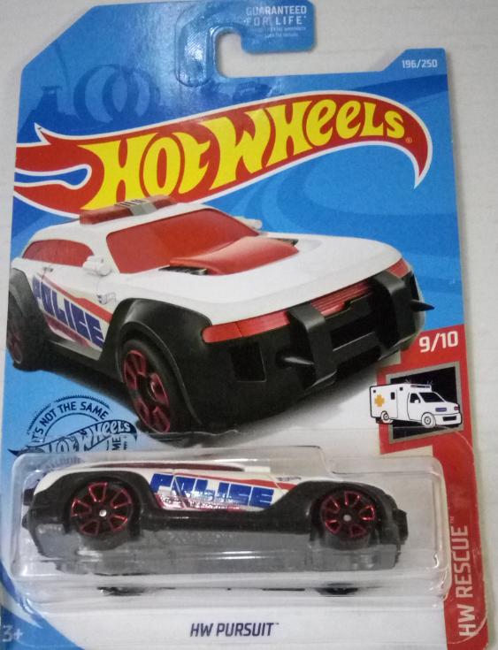 Машинка Hot Wheels 2019 HW Pursuit