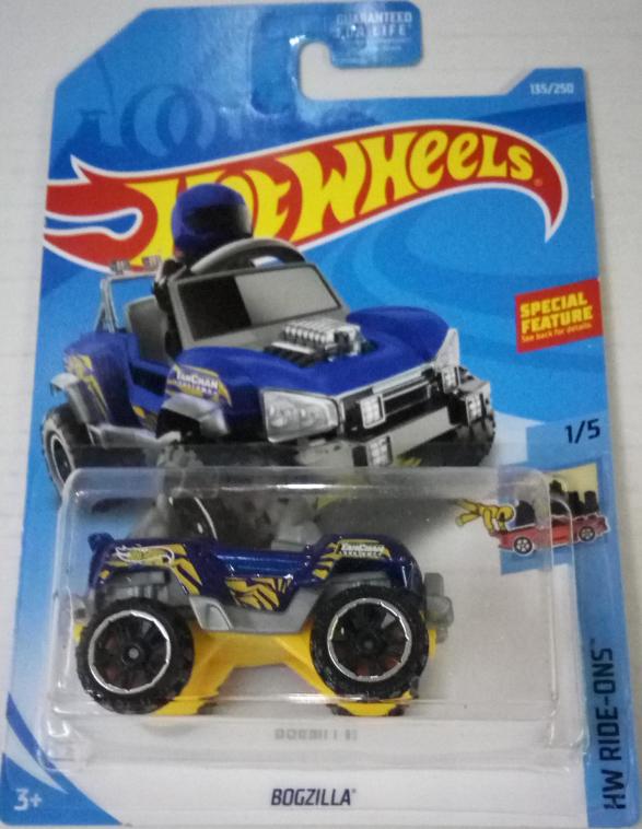 Машинка Hot Wheels 2019 Bogzilla