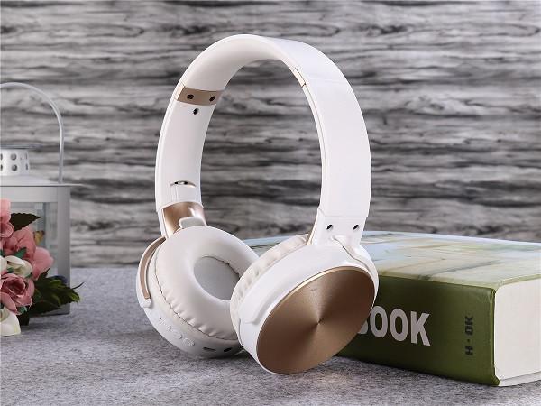 Беспроводные наушники Bluetooth / microSD Enjoy Music S35 белый