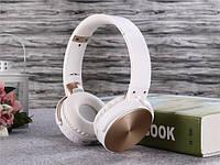 Беспроводные наушники Bluetooth / microSD Enjoy Music S35 белый, фото 1