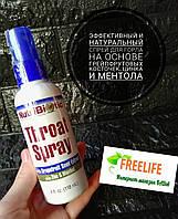 NutriBiotic, Throat Spray with Grapefruit Seed Extract plus Zinc & Menthol, 4 fl oz (118 ml)