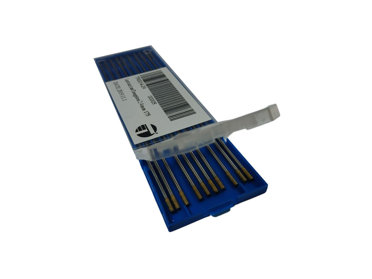 Вольфрамовый электрод Trafimet ( Италия ) WL-15 - 1.6мм ; 175мм, 1 шт.