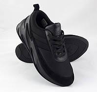 Кроссовки Adidas $harks Мужские Адидас Чёрные Акула (размеры 41, 42, 43, 44, 45)