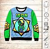 Світшот 3D Brawl Stars Leon Neon