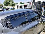 Ветровики, дефлекторы окон Nissan Juke 2010- (Auto clover D056), фото 2