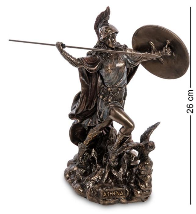 Статуэтка Афина - Богиня мудрости и войны Veronese WS-1009