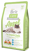 Brit Care Cat Angel I am Delighted Senior 400г, брит для пожилых кошек и котов