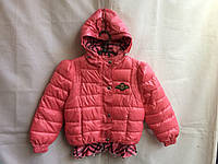 Куртка-ветровка на девочку 6-8 лет Розовая