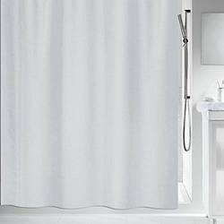 Spirella Шторка для ванной текстильная Spirella MAYA серая 240х200 см