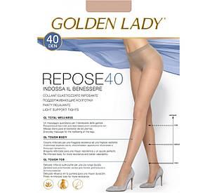 Колготки Golden Lady REPOSE 40 den 2, diano (бронза)