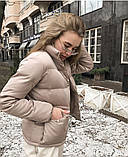 Женская демисезонная куртка черная красная бежевая белая, фото 6