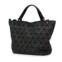 Женская сумка хамелеон из треугольников Бао Бао Bao Bao Issey Miyake средняя 30х26х17см