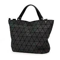 Женская сумка хамелеон из треугольников Бао Бао Bao Bao Issey Miyake большая 35х30х14см
