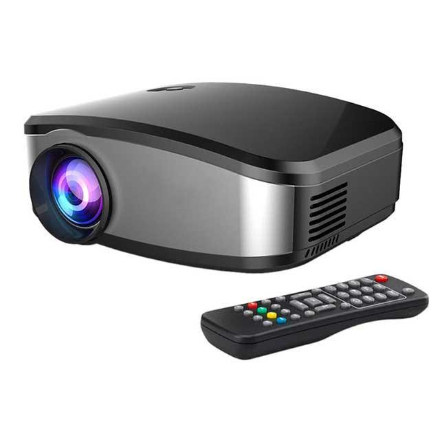 Портативный мультимедийный LED проектор Full HD C6TV