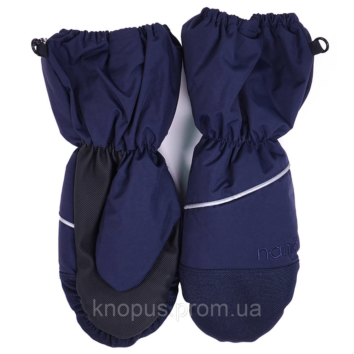 Перчатки-краги, водонепроницаемые с меховым вкладышем,  цвет в ассортименте, возраст от 12 мес 14 лет, Nano