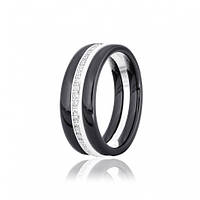 Серебряное кольцо GS с керамикой К2ФК/1005