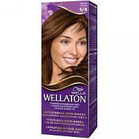 Крем-краска для волос Wellaton стойкая 5/4 Каштан (4056800023066)