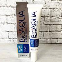 Крем для лицаот прыщей и угрей концентрированный анти-акне Bioaqua Pure Skin Removal of Acne Cream (30г), фото 1