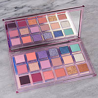 Палетка тіней для повік Huda Beauty Mercury Retrograde (18 кольорів).