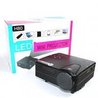 Портативный мультимедийный LED проектор H80