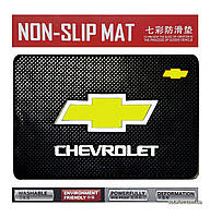 Антискользящий коврик в машину Anti-Slip Pad Chevrolet Black