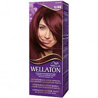 Крем-краска для волос Wellaton стойкая 5/66 Баклажан (4056800023080)