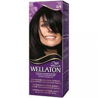 Крем-краска для волос Wellaton стойкая 2/0 Черный (4056800022991)