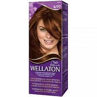 Крем-краска для волос Wellaton стойкая 5/77 Какао (4056800879052)