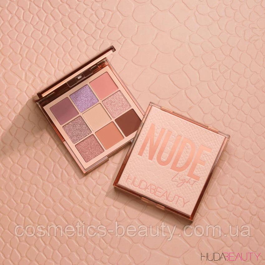 Тени для век Huda Beauty Light Nude Obsession.