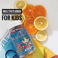 Gummi King Мультивитамины и минералы для детей 60 жевательных конфет в виде мишек, официальный сайт