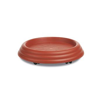Stefanplast Подставка мобильная под вазон Stefanplast GERVASO 35 см коричневая (81350)