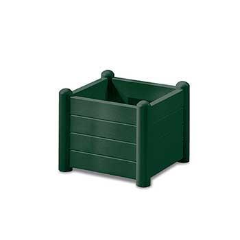Stefanplast Вазон квадратный Stefanplast ITALIA зеленый (80035)