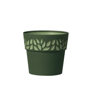 Stefanplast Вазон круглый Stefanplast OPERA CLOE зеленый 25 см (94302)
