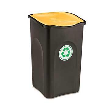 Stefanplast Мусорный бак Stefanplast Ecogreen bin 50 л жёлтый (70650)